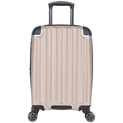 "Kenneth Cole Reaction Wave Rush 20"" Lightweight Hardside PET 8-Wheel Spinner Expandable Carry-On"