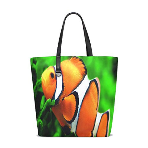 Finding Dory Clownfish Tote Bag Purse Handbag Womens Gym Yoga Bags for Girls