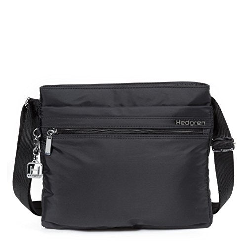 Hedgren Fola Shoulder Bag with RFID Protection, Women's, One Size (Black)