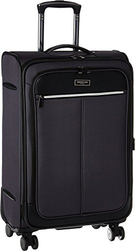 "Kenneth Cole Reaction Unisex Class Transit 2.0 - 24"" Expandable 8-Wheel Upright Charcoal Luggage"