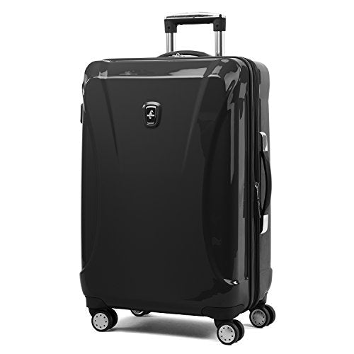 "Atlantic Ultra Lite Hardsides 24"" Spinner Suitcase, Jade Black"