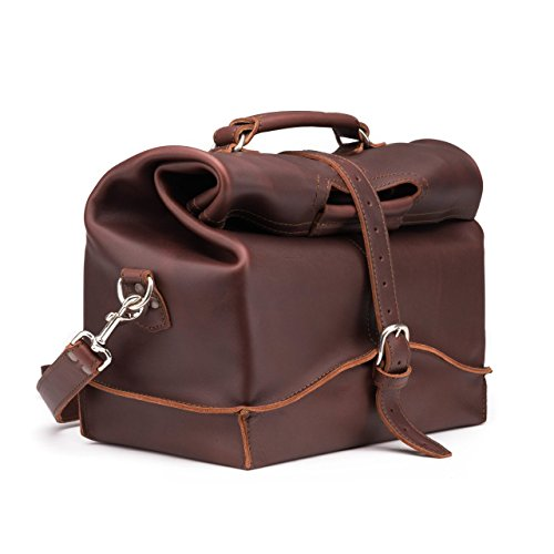 Saddleback Leather Overnight Bag - Full Grain Leather Carry On - 100 Year Warranty