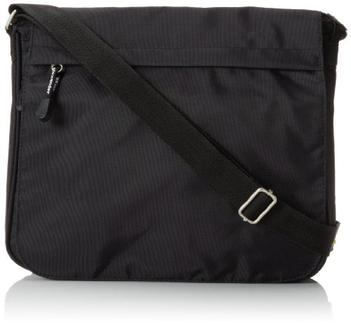 Derek Alexander Full Flap Shoulder Bag Pw, Black, One Size