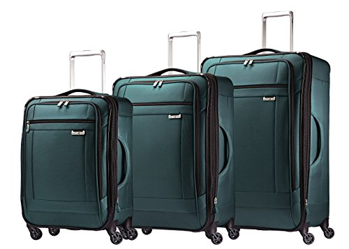 Samsonite Solyte 3-Piece Expandable Spinner Set; 20 ,25 , and 29 Expandable Spinners (Teal)