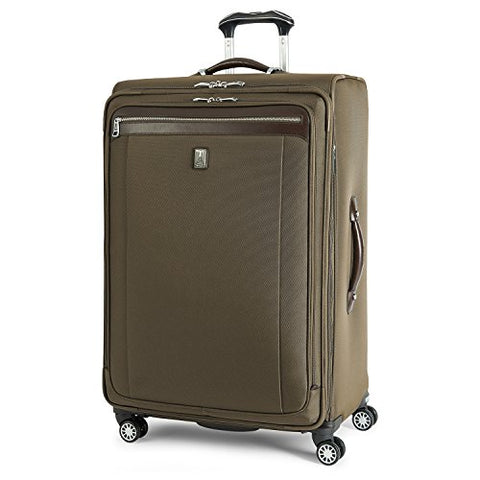 Travelpro Platinum Magna 2 Expandable Spinner Suiter Suitcase, 29-In., Olive