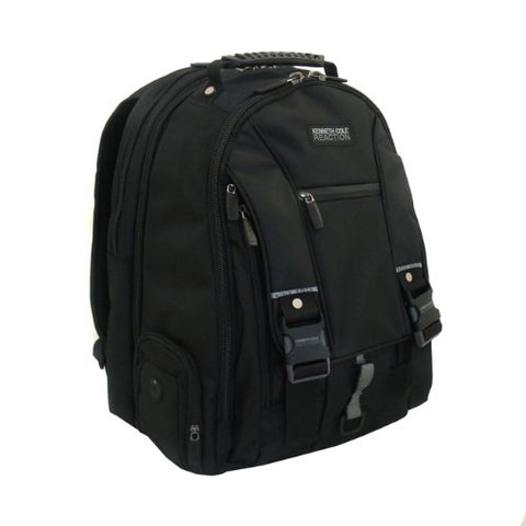 Kenneth Cole Reaction R-Tech Laptop Notebook Computer Backpack - Black