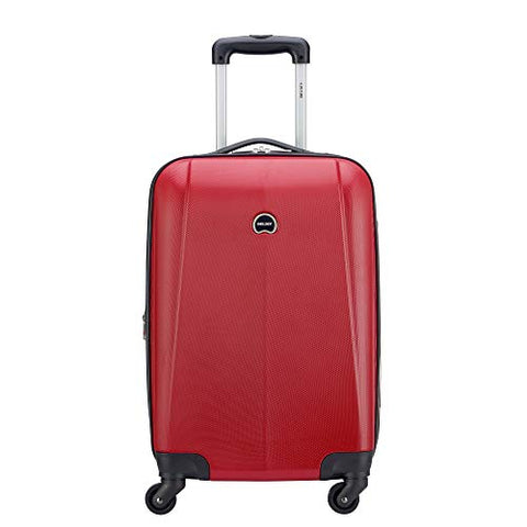 Delsey Luggage Infinitude Expandable Spinner Carry-On (Red)