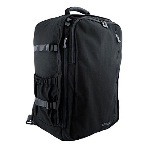 Lite Gear Travel Pack, Black, One Size