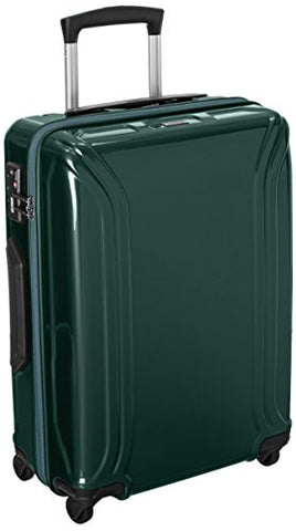 Zero Halliburton Air Ii Carry-On 4 Wheel Spinner Travel Case, Green, One Size