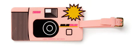 Ban.do Women's Getaway Silicone Luggage Tag with Strap (Disposable Camera)