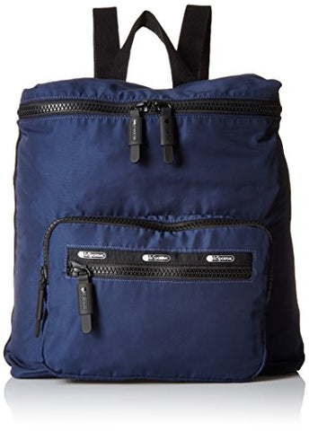 Lesportsac Women'S Portable Backpack, Classic Navy