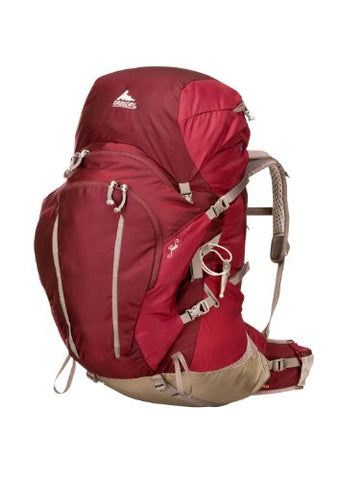 Gregory Women's Jade 70 Backpack, Rosewood Red, Medium