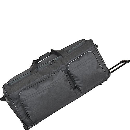 "Netpack 30"" Travel Light Ii Wheeled Duffel (Black)"