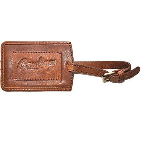 Rawlings Rugged Luggage Tag, Cognac, One Size