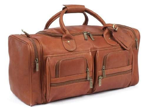 Claire Chase Executive Sport Duffel, Saddle, One Size