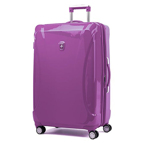 "Atlantic Ultra Lite Hardsides 28"" Spinner Suitcase, Bright Violet"