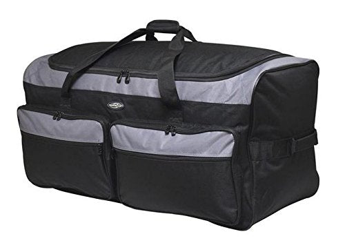 "Travelers Club 36"" X-Large Expandable Triple Wheeled Rolling Duffel Luggage"