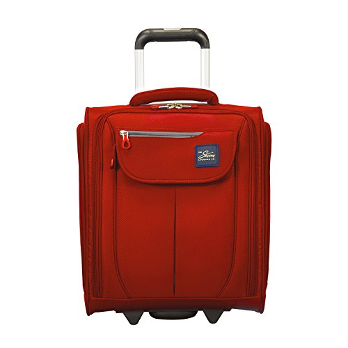 Skyway Mirage 2.0 16-inch Under Seat Rolling Tote, True Red