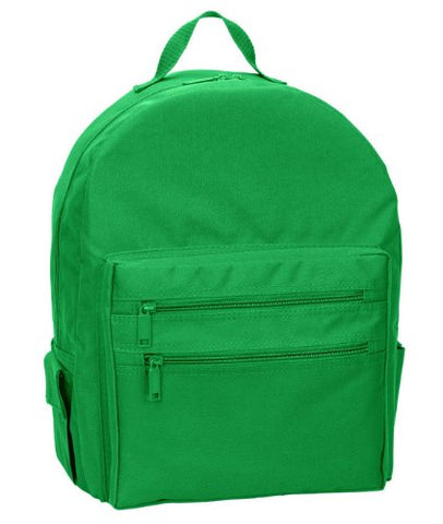 Ultraclub Accessories Backpack On A Budget 7707 -Kelly One
