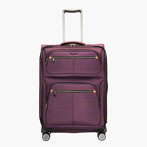 "Ricardo Montecito 25"" Soft Side Spinner Luggage Purple"