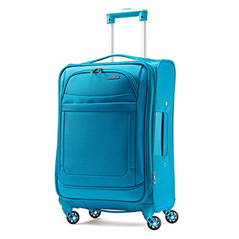 American Tourister Ilite Max Softside Spinner 21, Light Blue