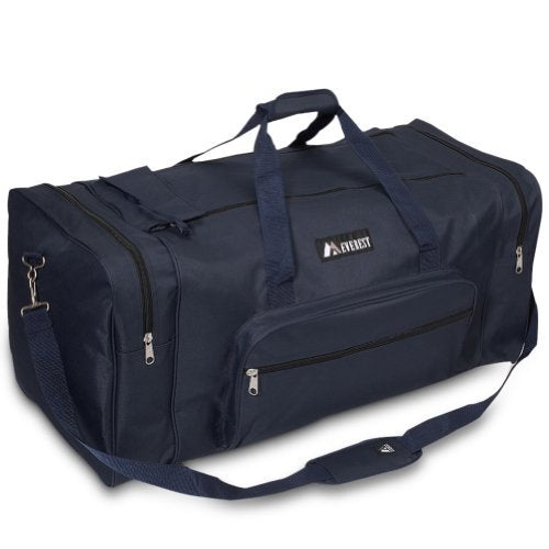 Everest Luggage Sporty Gear Bag - Large,One Size,Solid Navy