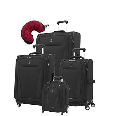 "Travelpro Maxlite 5 | 5-Pc Set | Underseater, 21"" Carry-On, 25"" & 29"" Exp. Spinners With Travel"
