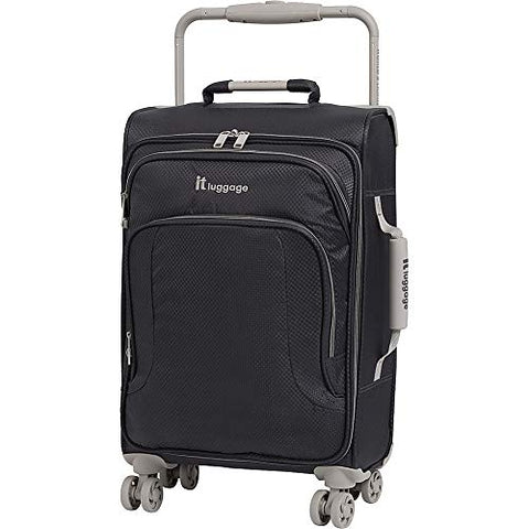 "IT Luggage 22"" World's Lightest 8 Wheel Spinner, Magnet With Cobblestone Trim"