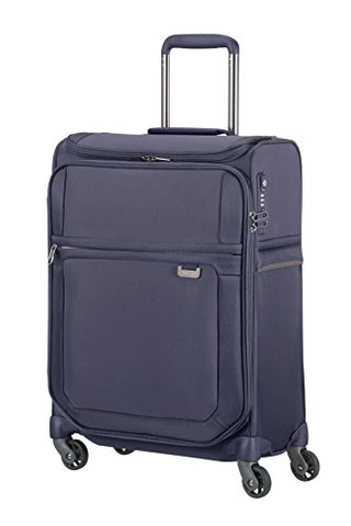 Samsonite Uplite - Spinner 55/20 Smart Top Hand Luggage, 55 Cm, 41 Liters, Blue