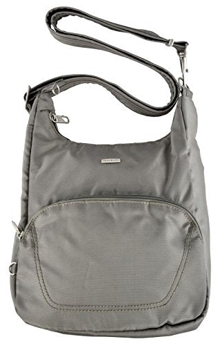 Travelon Anti-Theft Classic Essential Messenger Bag (One Size, Rock)