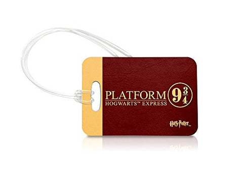 Harry Potter (Platform 9¾) Keychain Luggage Tag And Zipper Pull
