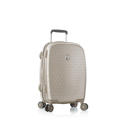 "Heys America Motif Neige 21"" Hardside Spinner Carry-On (Champagne)"