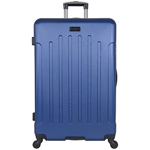 "Heritage Travelware Lincoln Park 29"" Hardside Lightweight 4-Wheel Spinner Checked Luggage, Cobalt"