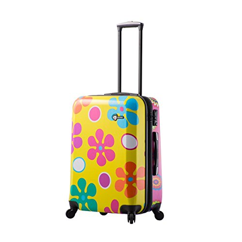 Mia Toro Pop Fiore Hardside 24 inch Spinner, Gallio
