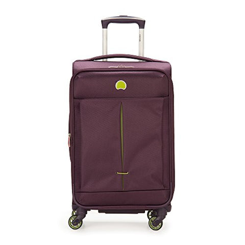 "DELSEY Paris Delsey Air Adventure 21"" Carry-on Spinner, Purple"
