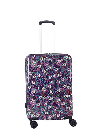 Isaac Mizrahi Harley 26-Inch 8-Wheel Hardside Spinner (Purple)