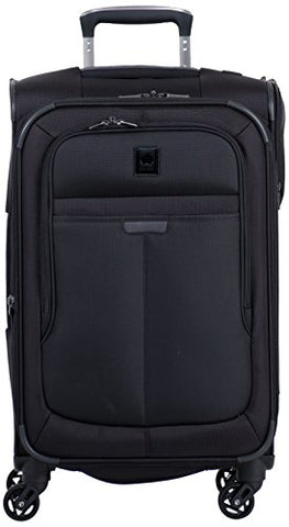 DELSEY Paris Helium Pilot 3.0 Carry-on Exp. Spinner Trolley, Black