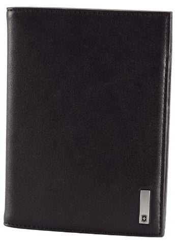 Victorinox Men's Altius 3.0 Oslo Leather Passport Cover, Black, One Size