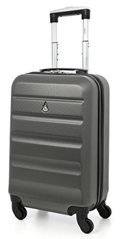 Aerolite 22X14X9Ó American, United & Delta Airlines Max Abs Hardshell Luggage Suitcase Spinner