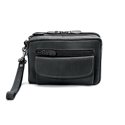 Winn International Mens Leather Compact Organizer Ii