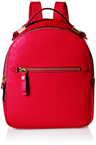 Cole Haan Women's Tali Leather Small Backpack, barbados cherry