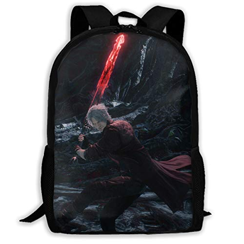 Devil Hunter 5 Backpack Unisex Suitable For People Of All Ages (HD 3D Print)