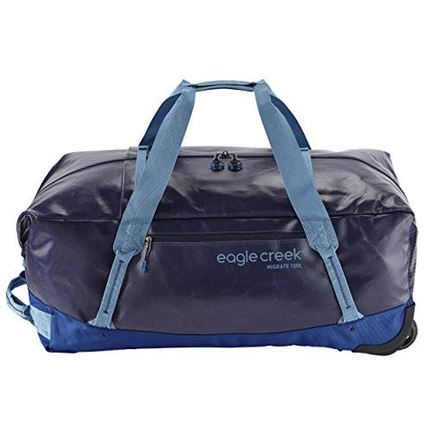 Eagle Creek Migrate Wheeled Duffel 130l Bag, Arctic Blue, One Size
