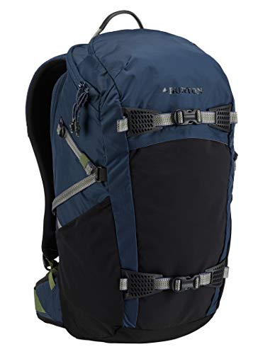 Burton Multi-Season Day Hiker 31L Hiking/Backcountry Backpack, Mood Indigo Rip Cordura