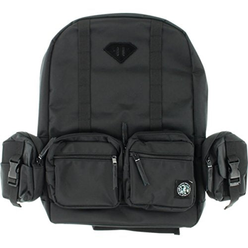 Diamond Supply Co Haight Black Backpack