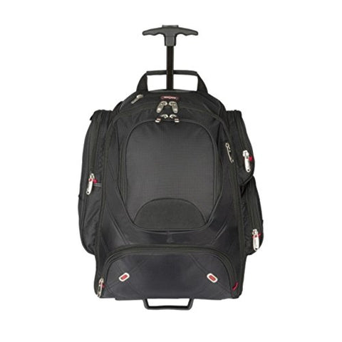 "Elleven E12933113300 Wheeled TSA Checkpoint-Friendly 17"" Laptop/MacBook Pro Backpack"