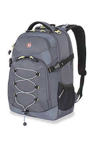 Swiss Gear Sa5960 Gray Laptop Backpack - Fits Most 15 Inch Laptops And Tablets
