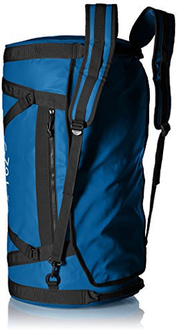Helly Hansen Duffel 2 Water Resistant Packable Bag with Optional Backpack Straps, 70-liter (Meduim), 558 Stone Blue
