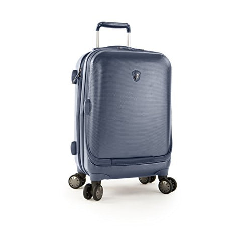 "Portal 21"" Spinner Suitcase Color: Slate Blue"