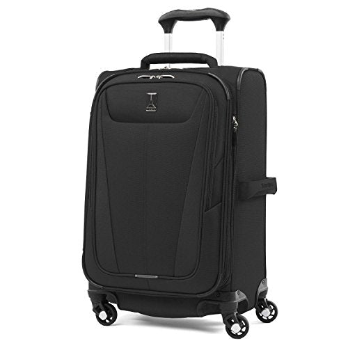 "Travelpro Maxlite 5 21"" Expandable Carry-on Spinner Suitcase, Black"